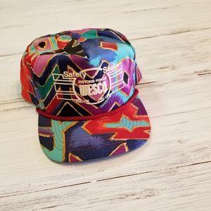 f3b1644795e53 San Sun Accessories - Vintage 90 s Ball cap Wesco Multi-colored